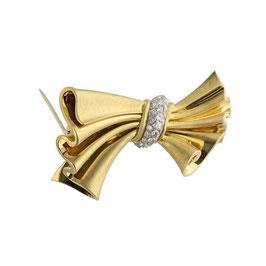 Diamant Brosche