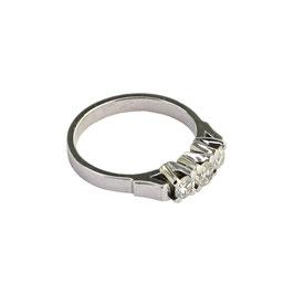 Diamant Rivière Ring