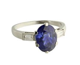 Sapphire Diamant Ring