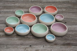 Keramiknapf Pastell