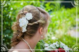 3 Haarblüten + Schleierchen