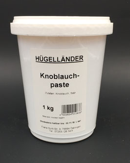 Knoblauchpaste