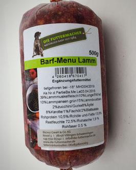 Barf-Menu Lamm