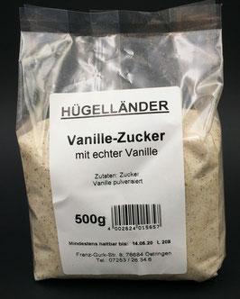 Vanille-Zucker mit echter Vanille