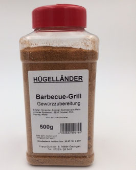 Barbecue-Grill Gewürzzubereitung