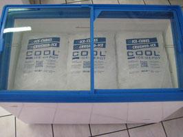 Eiswürfel 22 x 5 Kilo=110Kg in TK-Truhe (leihweise)