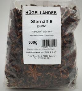 Sternanis - ganz
