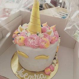 Gâteau Licorne classique