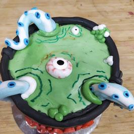 gâteau chaudron de sorcière • JEUD 28-10-21 à 14 h