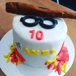 Gâteau Harry Potter avec écharpe