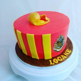 Gâteau univers Harry Potter