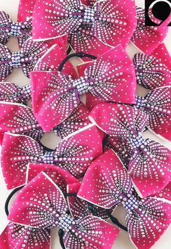 Quatro Bow pink to purple