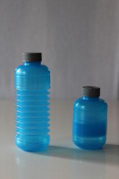 SQUEASY Trinkflasche Metallicblau