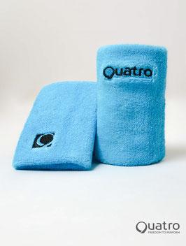 Quatro Schweissbänder blau