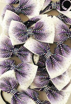 Quatro Bow purple ombre