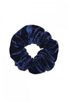Haargummi dunkelblau samt