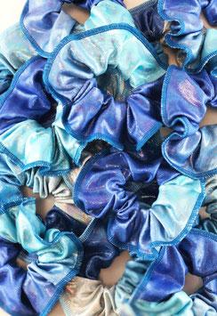 Haargummi blue ombre