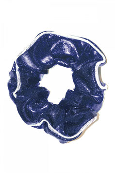 Haargummi dunkelblau glänzend