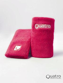 Quatro Schweissbänder pink