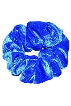 Haargummi königsblau samt