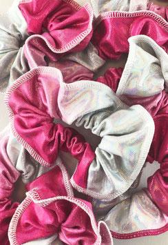 Haargummi pink ombre