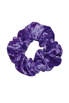 Haargummi violett samt