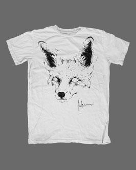 Fuchs gezeichnet (schwarz)