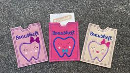 Ausweishülle für Zahn - Bonusheft