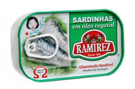 "Sardinen in Pflanzenöl - ""Ramirez Sardinhas em Oleo Vegetal """