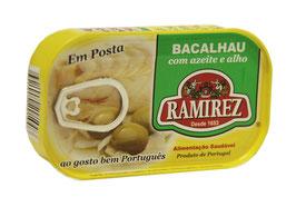 "Stockfisch in Olivenöl - ""Ramirez Bacalhau com azeite e alho"""