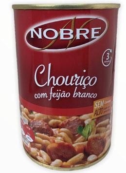 Eintopf mit Chorizo und weißen Bohnen - Chouriço com Feijão Branco Nobre