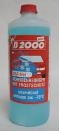 B2000 Antifrost für Scheibenwaschanlagen Bio mit Duft / Konzentrat (-70°C)