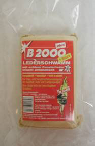 B2000 Lederschwamm