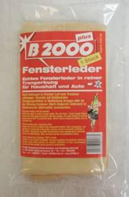 B2000 Fensterleder 1A Qualität (Original Leder)