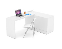 Schreibtisch Dekor