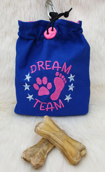 Leckerlibeutel Dream Team Blau/Pink