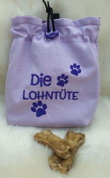 Leckerlibeutel Die Lohntüte Flieder/Lila