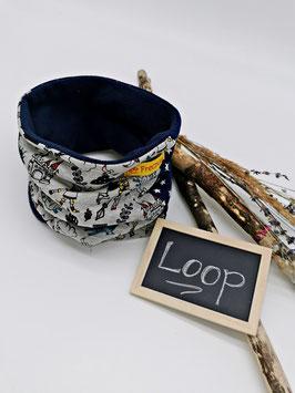 Winter Loop Ritter Hellgrau