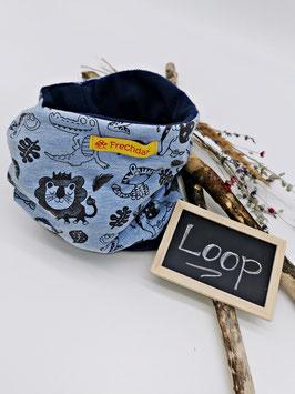 Winter Loop Safari Blau