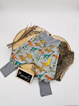 Pumphose Dino Bunt/Grau
