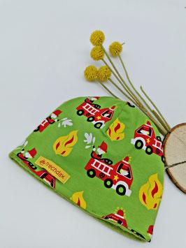Winter Beanie Feuerwehr Grün