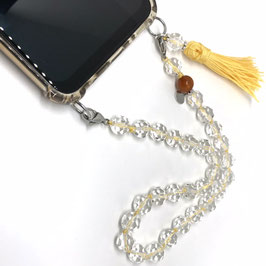 Mini Handy Kette Crystal