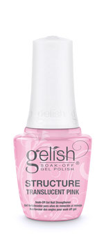 Gelish Structure Transparent Pink mit Pinsel 15ml NEU