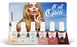 Gelish 'Out in the Open' Display 6 x 15ml