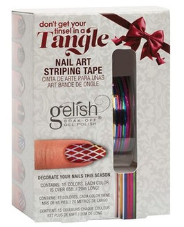 Gelish Nail Art Striping Tape in 15 Farben