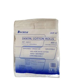 Cotton Rolls 600Stück