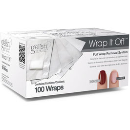 Gelish Wrap It Off - Entfernerfolien