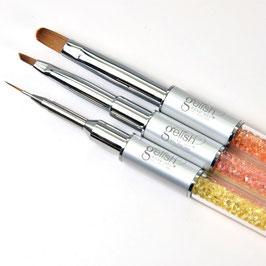 Gelish Brush Set - bunt