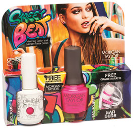 "Gelish + Morgan Taylor ""Tag, you´re it"""