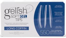 Soft Gel Tips - Long Coffin